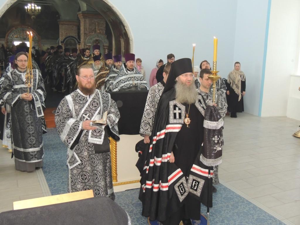1-е в этом году епархиальное собрание духовенства Урюпинской епархии.