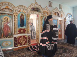 Чин Божественной литургии Преждеосвященных даров в храме Архистатига Божия Михаила в ст. Добринской
