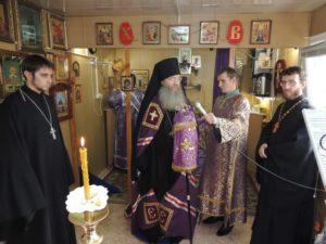 Чин Божественной литургии Преждеосвященных даров в храме Рождества Иоанна Предтечи г. Урюпинска