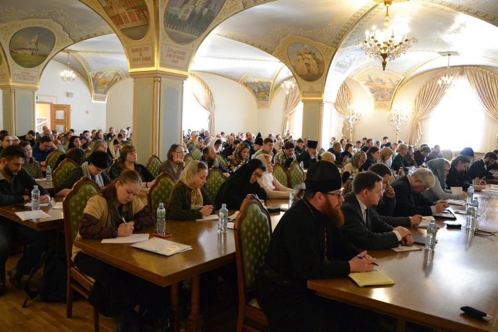 Выступление Урюпинского казака Юрия Разливаева на юридическом семинаре в Храме Христа Спасителя.