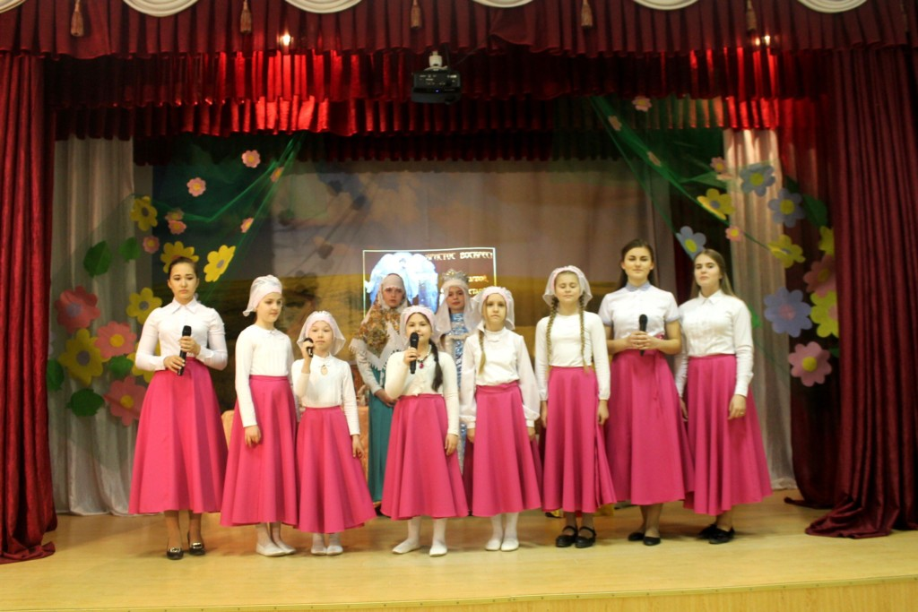 Праздничный Пасхальный концерт в концертном зале Центра детского творчества.
