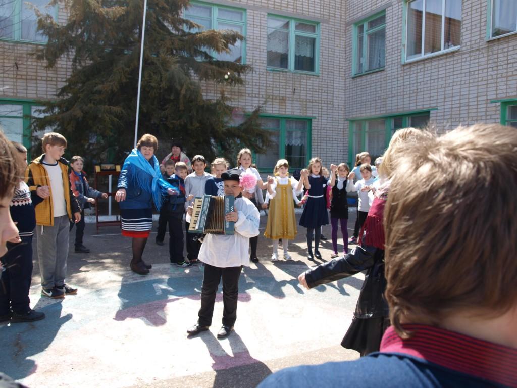 В Зензеватской школе был проведен праздник Благовещения.