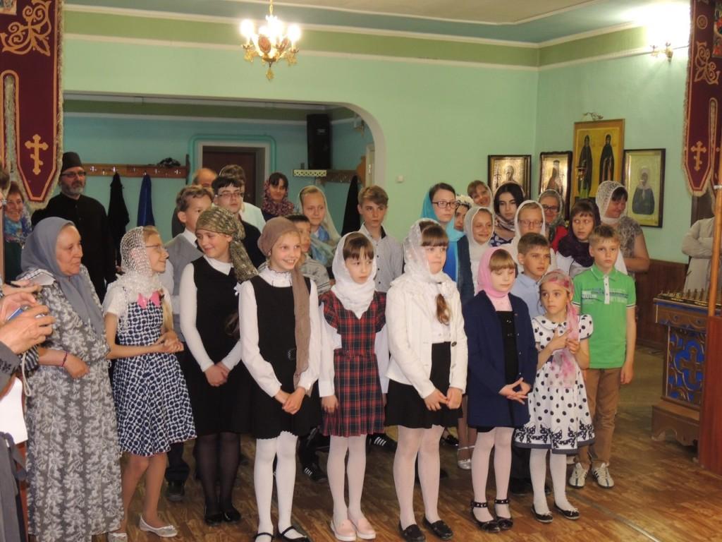 В Урюпинской епархии прошей 1-й Епархиальный конкурс чтецов на церковно-славянском языке.