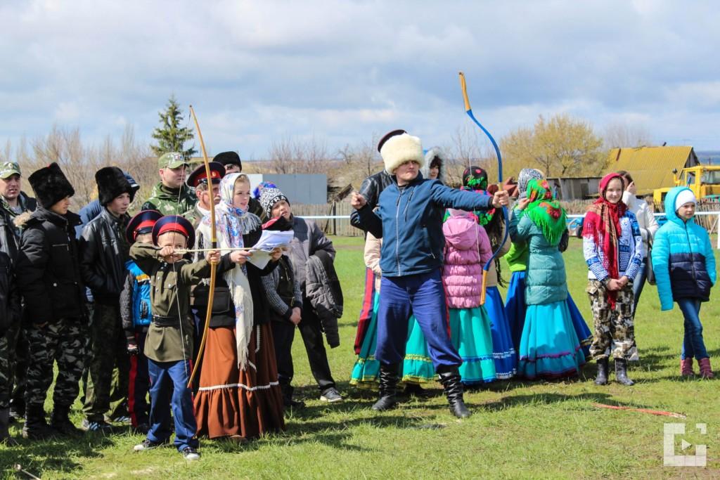 Состоялись традиционные казачьи игры «Вольная Медведица».