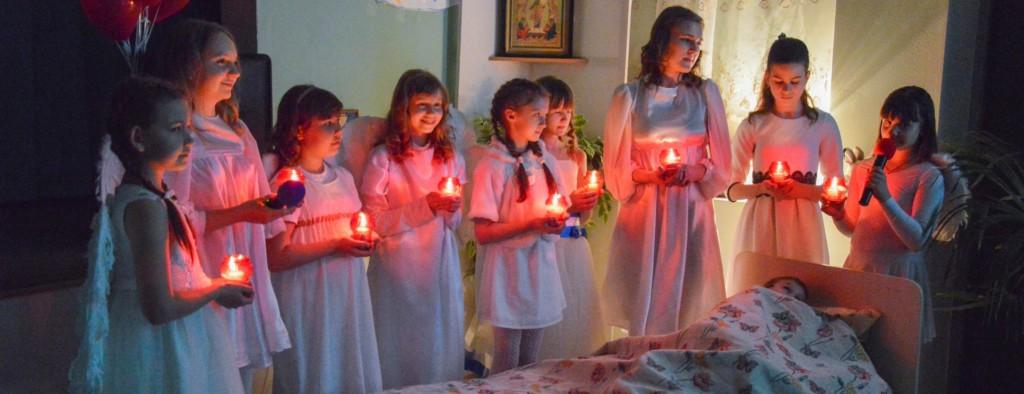 Пасхальный праздник для воспитанников Воскресных школ города Михайловка.