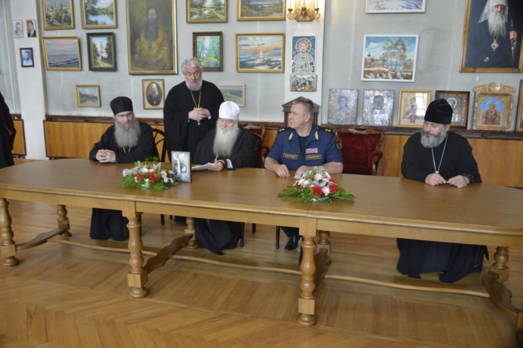 Подписано соглашение о сотрудничестве между Волгоградской митрополией и УФСИН России по Волгоградской области.