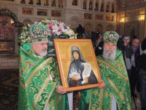 Подготовка к торжествам по случаю дня памяти преподобной игумении Арсении в Усть-Медведицком монастыре