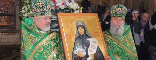 Подготовка к торжествам по случаю дня памяти преподобной игумении Арсении в Усть-Медведицком монастыре.