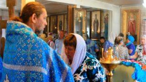 Престольный праздник в хуторе Большой Лычак.