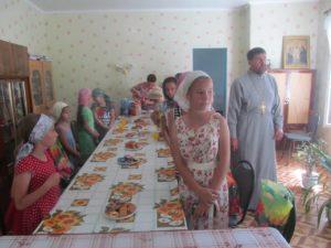 Праздничное мероприятие, посвященное празднованию Собора Архангела Гавриила.