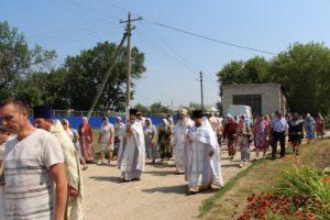 Служение епископа Елисея в день Собора Архангела Гавриила