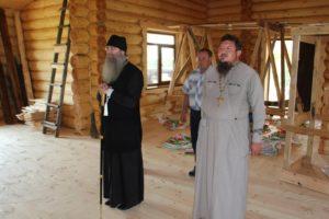 архипастырь посетил приходы на территории Нехаевского района