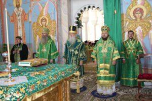 В Усть-Медведицком Спасо-Преображенском женском монастыре прошло первое церковное празднование дня памяти святой Арсении.