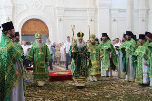 В Усть-Медведицком Спасо-Преображенском женском монастыре прошло первое церковное празднование дня памяти святой Арсении