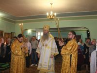 Божественная литургия в храме Прп. Сергия Радонежского г. Урюпинск.