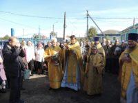 Божественная литургия в храме св. ап. Иоанна Богослова в ст. Нехаевской.