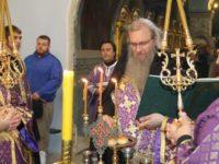 Всенощное бдение в соборе Покрова Пресвятой Богородицы.
