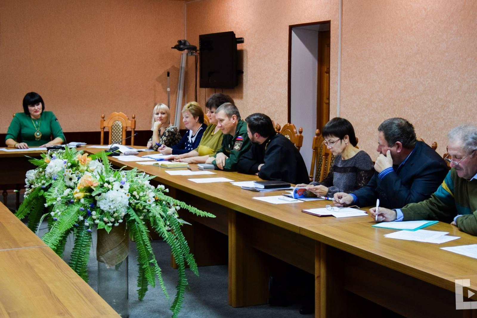 Заседание Координационного Совета по патриотическому воспитанию населения г. Михайловка. - Урюпинская епархия