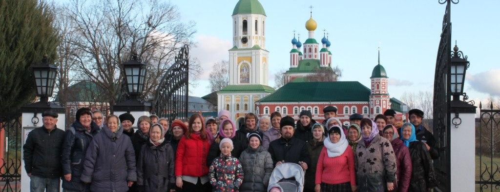 Паломническая поездка в Дивеево. - Урюпинская епархия