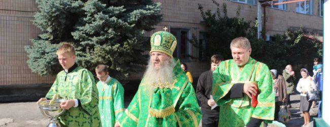 Божественная Литургия в больничном храме Прп. Агапита Печерского г.Михайловка.