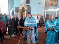 Божественная литургия в храме Рождества Пресвятой Богородицы г. Фролово.