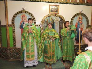 18-я неделя, день памяти прп Сергия Радонежского
