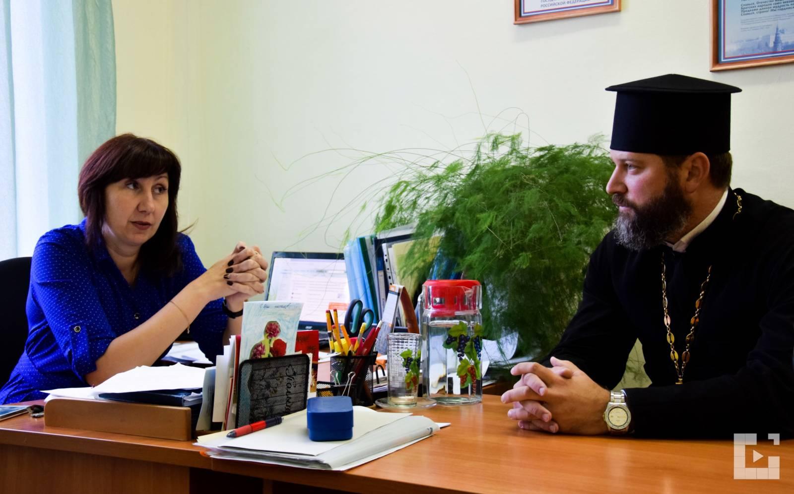 Совещание в Михайловской школе-интернате. - Урюпинская епархия