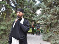 Митинг у памятника ликвидаторам радиационных аварий. г. Михайловка.