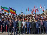 Форум православной казачьей молодежи в Волгограде.