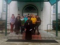 Cтуденты группы Б-15 посетили Богоявленский храм города Фролово
