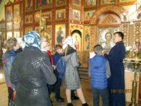 Экскурсия для учащихся в Богоявленском храме г.Фролово
