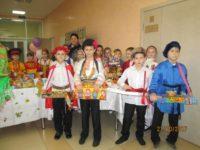 Осенняя Покровская ярмарка в православной гимназии г. Фролово.
