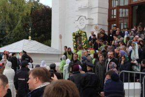 Владыка Елисей принял участие в праздновании Дня памяти преподобного Сергия Радонежского.