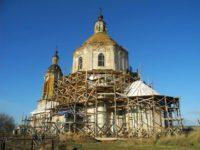 Реставрация храма Архангела Михаила в ст. Тепикинской.