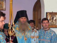 Всенощное Бдение с чтением акафиста в Каменно-Бродском Свято Троицком Белогорском мужском монастыре.