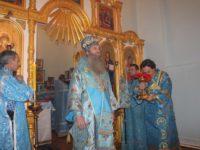 Освящен храм иконы Божией Матери «Скоропослушница» в п. Совхоз АМО.