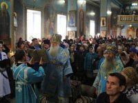 Божественная литургия в Казанском кафедральном соборе г. Волгограда.