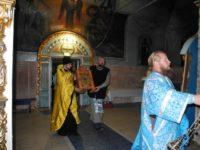 Урюпинская икона Божией Матери вернулась из Михайловского благочиния.