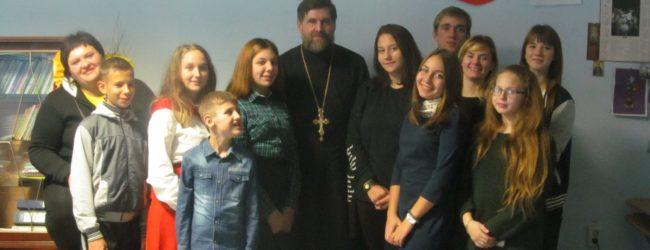 Встреча с воспитанниками Еланского Дворца творчества.