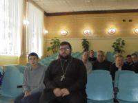 Иерей Кирилл Щеголев посетил психоневрологический интернат в х. Ольшанке.