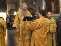 Божественная литургия в День памяти свт. Спиридона, еп. Тримифунтского.
