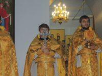 В день памяти святого апостола Андрея Первозванного. Покровский кафедральный собор.