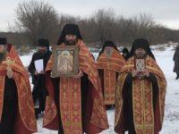 Чудотворная икона царя-мученика Николая II впервые посетила Урюпинскую епархию.