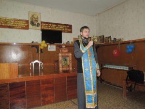 Урюпинская икона Божией Матери в онкологическом отделении.