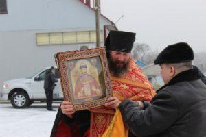 Чудотворная икона царя-мученика Николая II впервые посетила Урюпинскую епархию