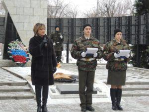 Акция памяти ко Дню неизвестного солдата