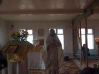 Первая Божественная литургия за 81 год.