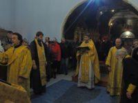 Праздничная Божественная литургия в Покровском кафедральном соборе г. Урюпинска.