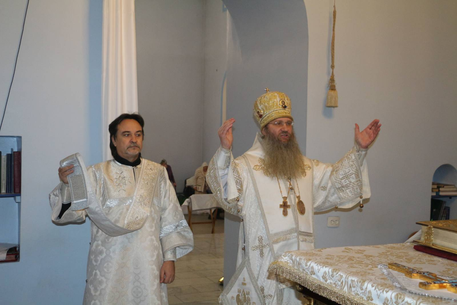 «Детская» Божественная литургия в Покровском кафедральном соборе г. Урюпинска.