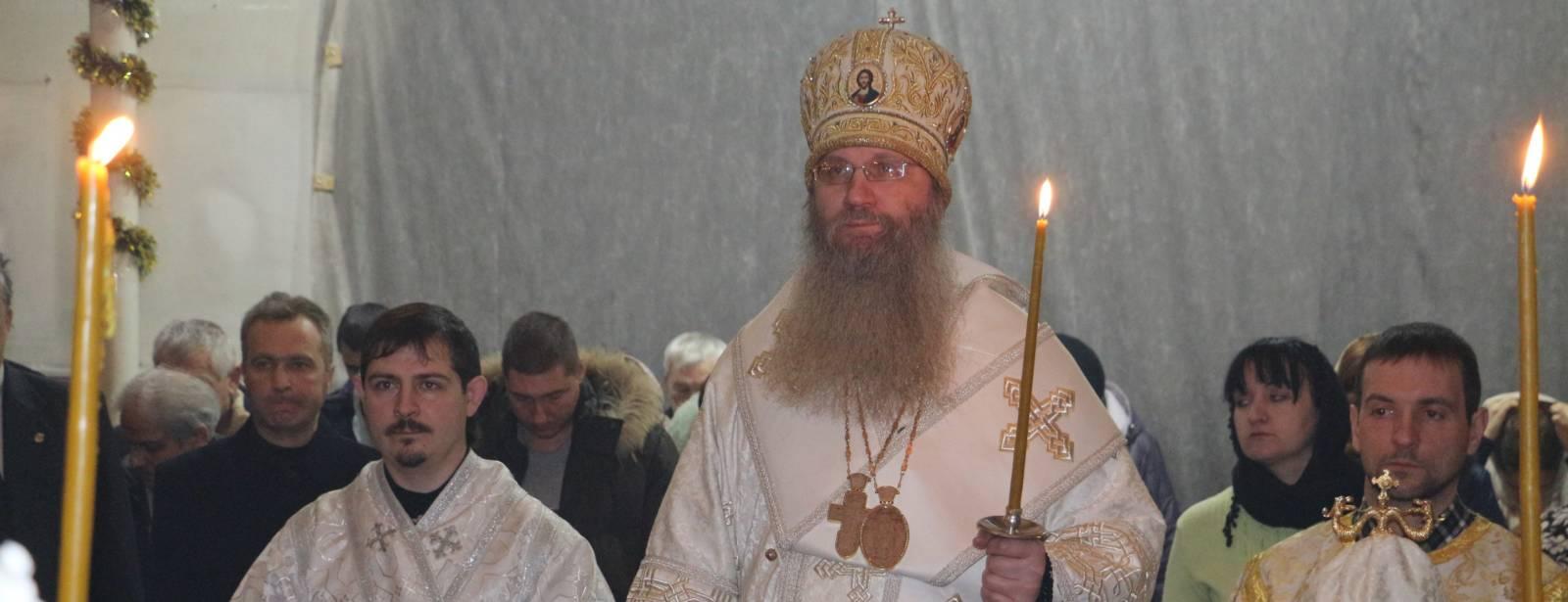 Всенощное Бдение в храме Святаго Духа Утешителя г. Жирновск.
